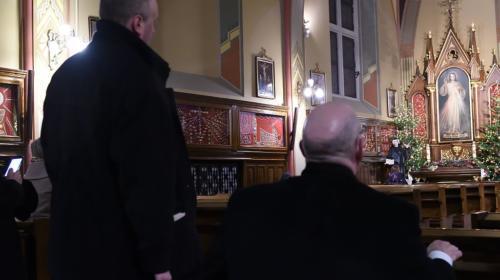 Bp E. Matthew Rice, ordynariusz diecezji Springfield – USA w Łagiewnikach, 4 stycznia 2020