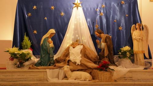 Boże Narodzenie 2020. Sanktuarium Bożego Miłosierdzia w Krakowie-Łagiewnikach