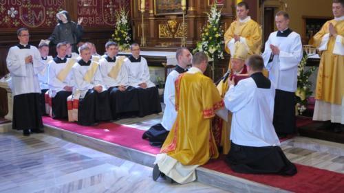 Święcenia diakonów saletynów, Sanktuarium w Krakowie-Łagiewnikach, 12 maja 2018