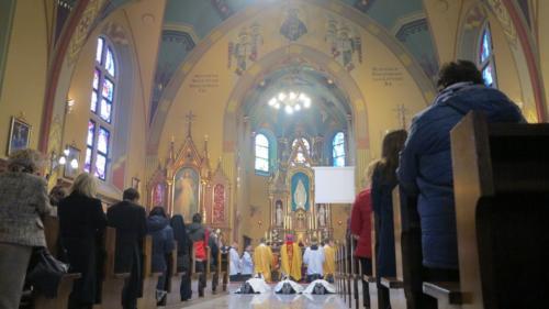 Święcenia diakonów ze Zgromadzenia Misjonarzy Saletynów, 19 marca 2019