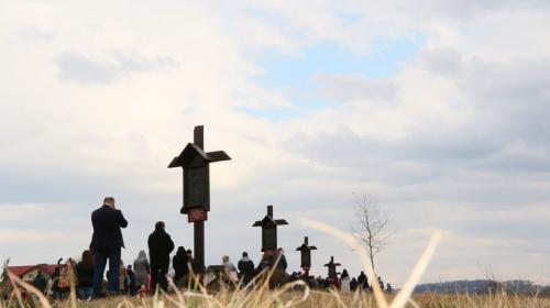 Wielki Piątek, Sanktuarium Bożego Miłosierdzia w Krakowie-Łagiewnikach, Droga krzyżowa
