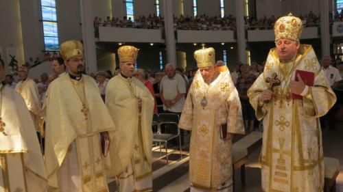 Pielgrzymka grekokatolików ze Słowacji do Sanktuarium w Krakowie-Łagiewnikach, 2 czerwca