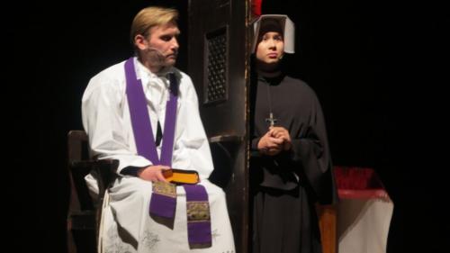 """""""Jestem z tobą"""", spektakl o św. Siostrze Faustynie, Kraków-Łagiewniki, 5 października 2018"""