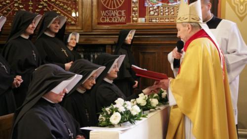 Srebrny jubileusz profesji zakonnej s. Faustyny, s. Charis i s. Livii, Kraków-Łagiewniki, 8 lutego 2020
