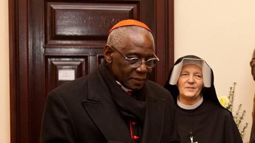 Kardynał Robert Sarah w Sanktuarium Bożego Miłosierdzia w Krakowie-Łagiewnikach, 1 lutego 2019