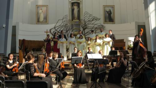 """Koncert """"Salve Mater Misericordiae"""" na 150-lecie Zgromadzenia, Kraków-Łagiewniki, 27 maja"""