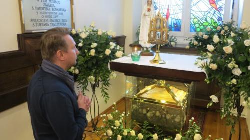 Nawiedzenie Sanktuarium i celi św. Faustyny, Kraków-Łagiewniki, 5 października 2018