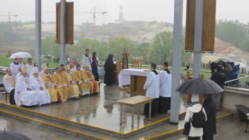 Święto Miłosierdzia w Sanktuarium w Krakowie-Łagiewnikach, 28 kwietnia 2019