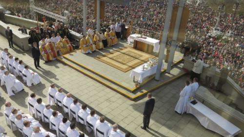 Święto Miłosierdzia Bożego w Sanktuarium w Krakowie-Łagiewnikach, 8 kwietnia 2018