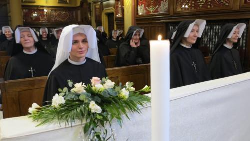 Pierwsza profesja zakonna s. Jaśminy, Sanktuarium w Krakowie-Łagiewnikach, 2 lutego 2020