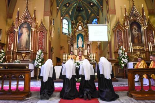 Pierwsze śluby czystości, ubóstwa i posłuszeństwa, Sanktuarium w Krakowie-Łagiewnikach, 2 sierpnia 2018