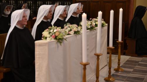 Pierwsze śluby zakonne, Sanktuarium Bożego Miłosierdzia, Kraków-Łagiewniki, 1 sierpnia 2020