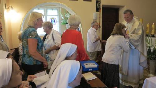 Dzień św. Siostry Faustyny w szpitalu na Prądniku, Kraków, 17 września 2018