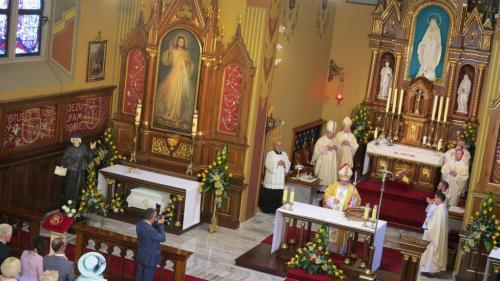 Prymicje biskupie nuncjusza apostolskiego w Ghanie abp. Henryka Jagodzińskiego, 25 lipca 2020