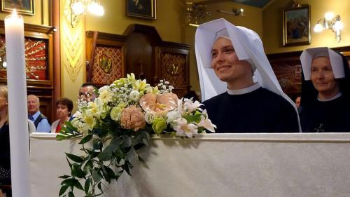 Pierwsze śluby zakonne, Sanktuarium Bożego Miłosierdzia, Kraków-Łagiewniki, 2 sierpnia 2021