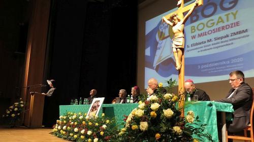 """Sympozjum """"Bóg bogaty w miłosierdzie"""", Sanktuarium w Krakowie-Łagiewnikach, 3 X 2020"""