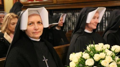Srebrny jubileusz profesji zakonnej s. Taidy, Sanktuarium w Krakowie-Łagiewnikach, 9 lutego 2019
