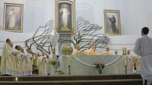 Msza św. Wieczerzy Pańskiej i procesja do ciemnicy, Kraków-Łagiewniki, 29 marca 2018