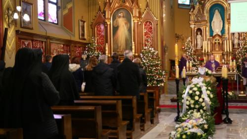 Pogrzeb s. M. Walerii Krysiak, Sanktuarium Bożego Miłosierdzia, Kraków-Łagiewniki, 17 stycznia