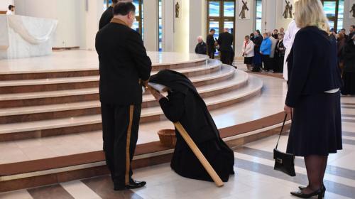 Wielki Piątek w Sanktuarium Bożego Miłosierdzia w Krakowie-Łagiewnikach, 19 kwietnia 2019