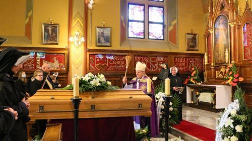 Pogrzeb s. M. Rafaeli Jedynak, Sanktuarium w Krakowie-Łagiewnikach, 20 maja 2021